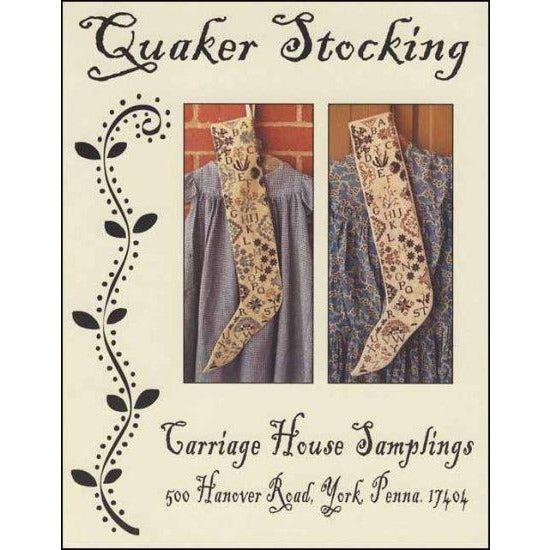 Quaker Stocking Pattern