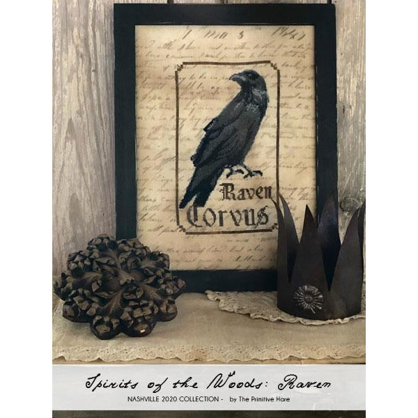 The Raven - Spirits of the Woods Pattern