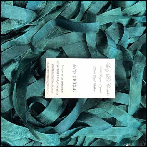 Rayon Ribbon - Sea Pickle