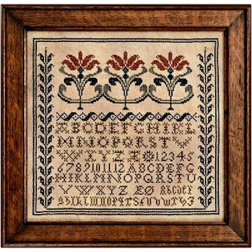 Three Lilies Sampler Pattern
