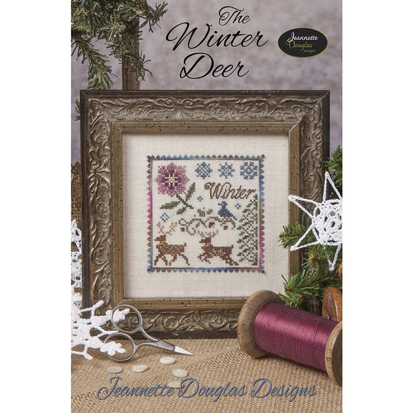 The Winter Deer Cross Stitch Pattern