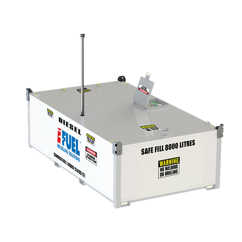 iFUEL CELL 8800L Self Bunded Tank