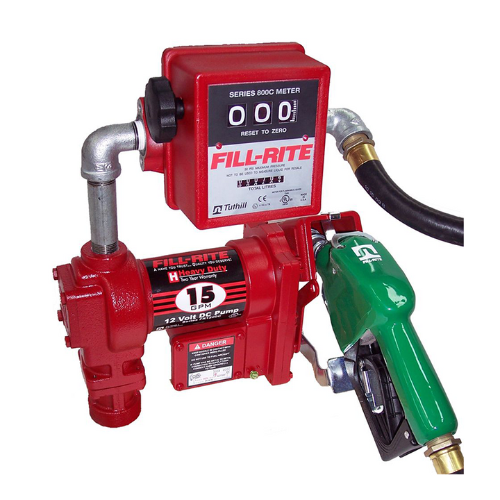 Fill-Rite FR4211GLA Pump Kit 12V DC 76lpm