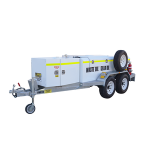 SERVICE TRAILER iFUEL® Self Bunded Low Profile Galvanised Dual Axle