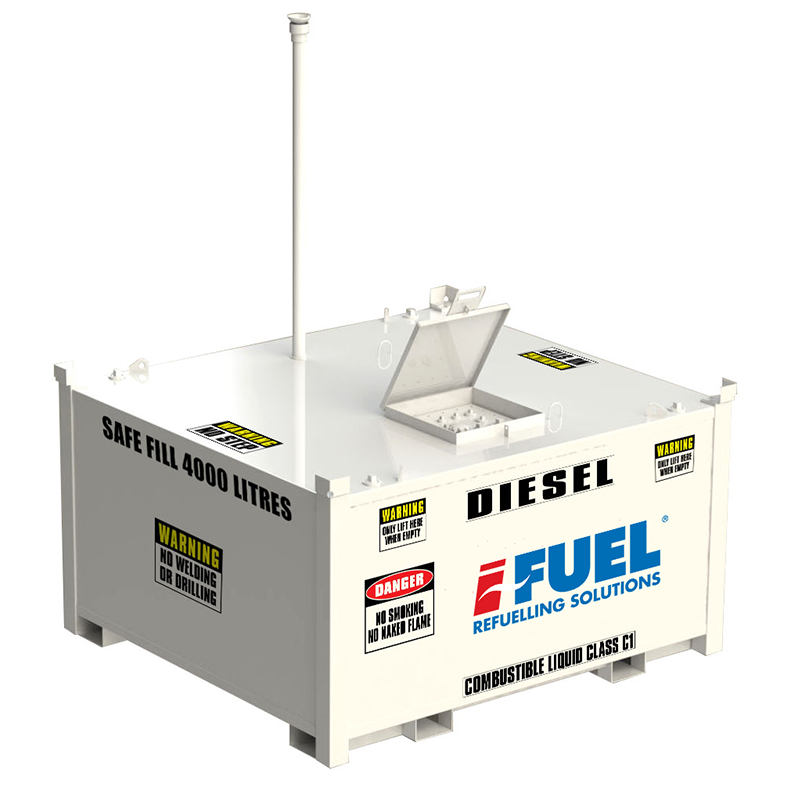 iFUEL CELL 4500L Self Bunded Tank