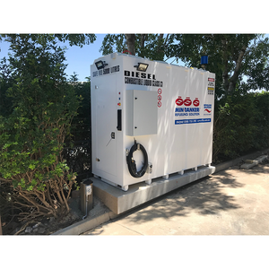 iFUEL STORE Self Bunded Tank 5,500L deployed with a landscaping company in Brisbane