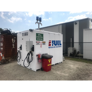 iFUEL STORE Self Bunded Tank 11,000L deployed with a landscaping company in Brisbane