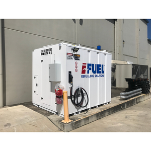 iFUEL STORE Self Bunded Tank 11,000L deployed with a food distribution company in Brisbane