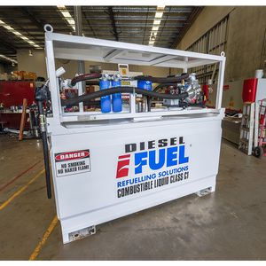 iFUEL® Self Bunded Tank Cube 2200L with Diesel Driven Dispensing Package