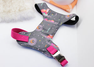 Space Otters Chest Harness