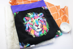 Multi Lion Cat Sleeping Bag
