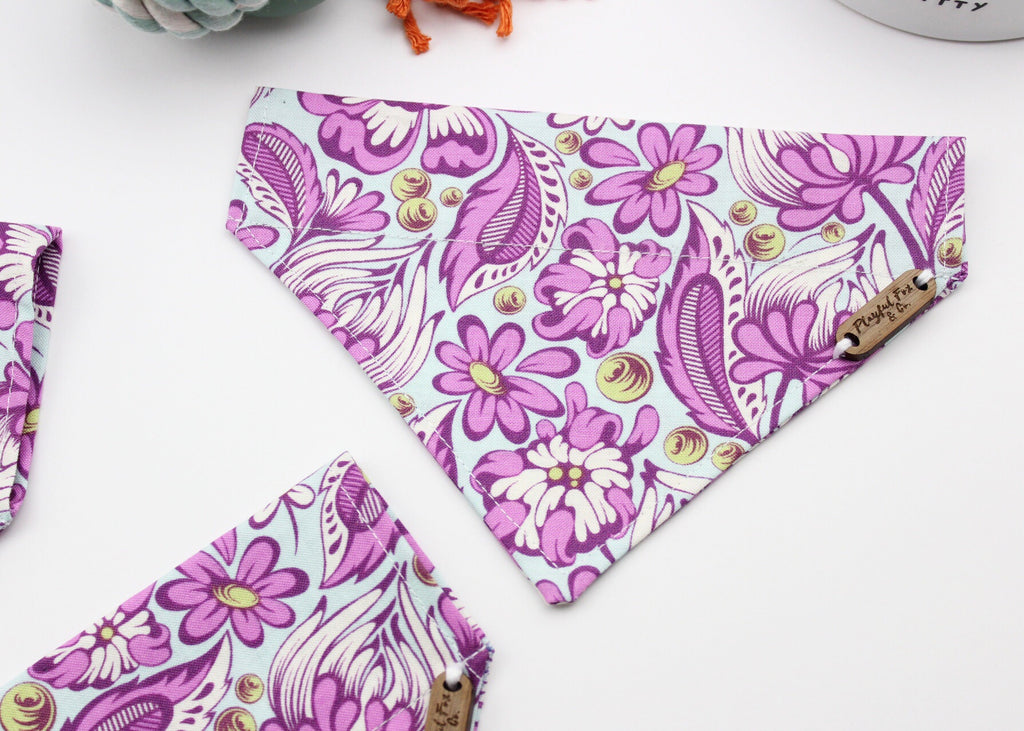 Wild Vines Over-The-Collar Pet Bandana