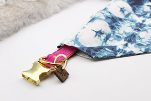 Indigo Over-The-Collar Pet Bandana