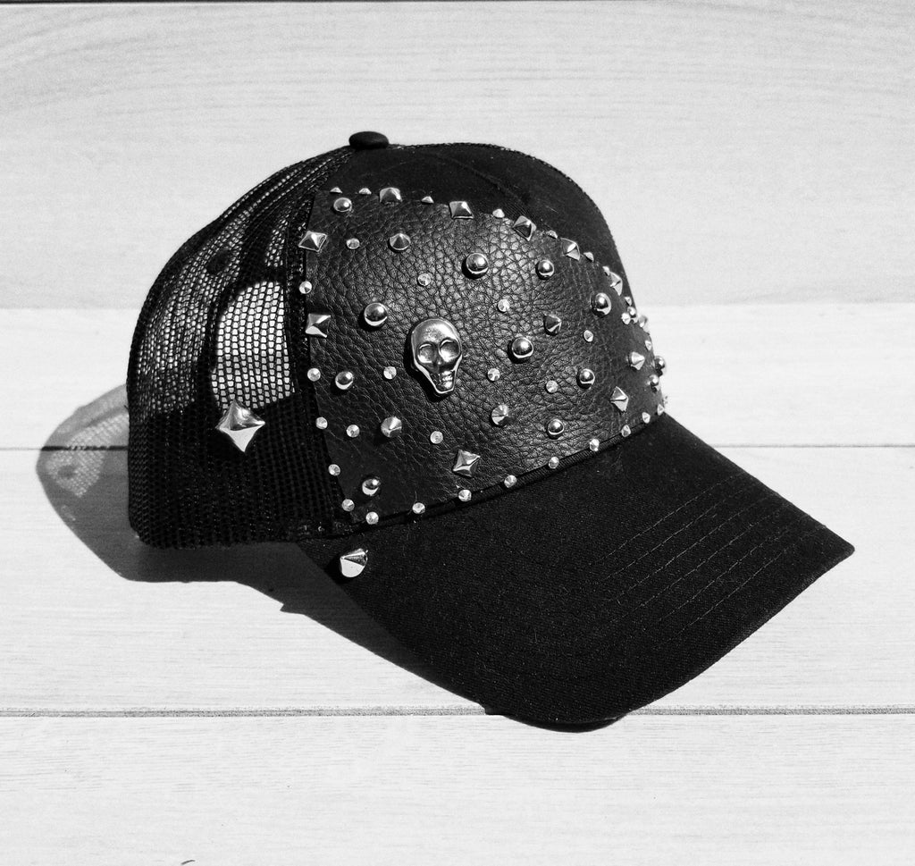 Sugar and Spikes Studded Snapback Cap