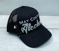 May Contain Alcohol Snapback Hat - Snapback Queen Official