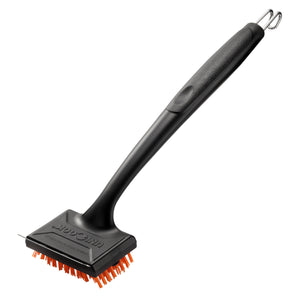 Unicook Safe Nylon Barbecue Grill Brush with Scraper