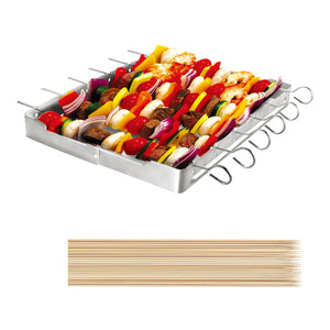Unicook Stainless Steel Barbecue Skewer Shish Kabob Set