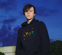 Load image into Gallery viewer, LGT Rainbow Embroidered Hoodie