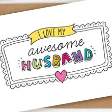 Load image into Gallery viewer, husband-anniversary-card