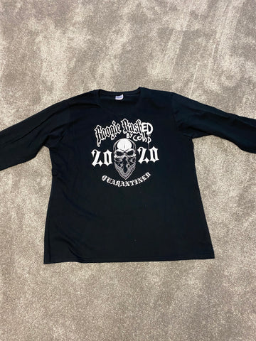Boogie BashED by COVID - LongSleeve - Black