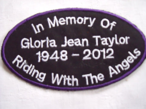 In Memory Gloria Taylor Patches
