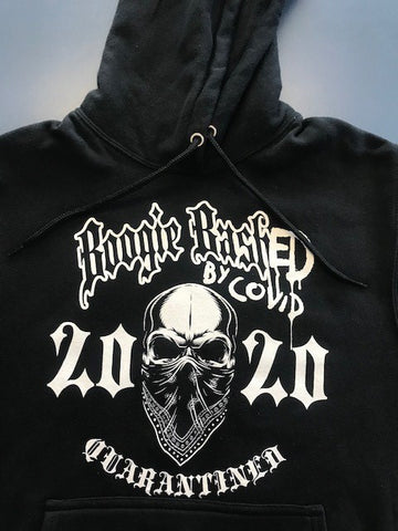 Boogie BashED by COVID - Hoodie - Black