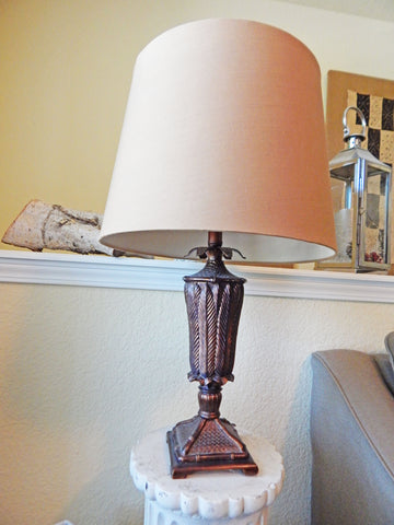 World of Clothing has a variety of lamps and lamp shades in stock.