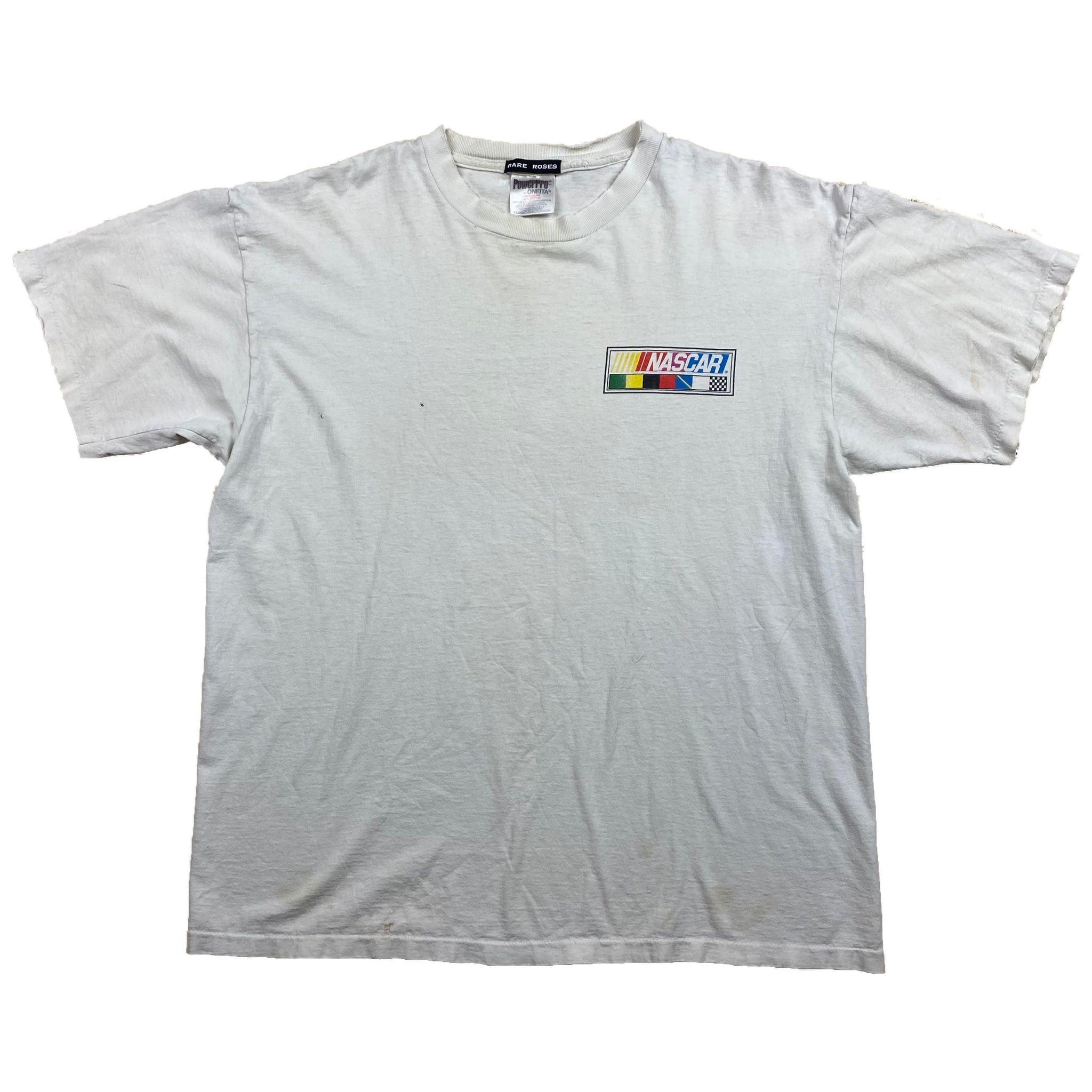 Distressed Nascar Flags Tee