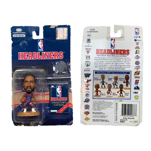 1996 Utah Jazz Malone Action Figure