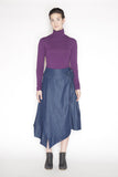 Sustainable turtleneck made in Vancouver, BC, Canada. Orchid.