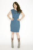 Sustainable Flush dress made in Vancouver BC Canada.