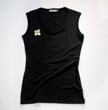Sustainable scoop neck tank made in Vancouver, BC