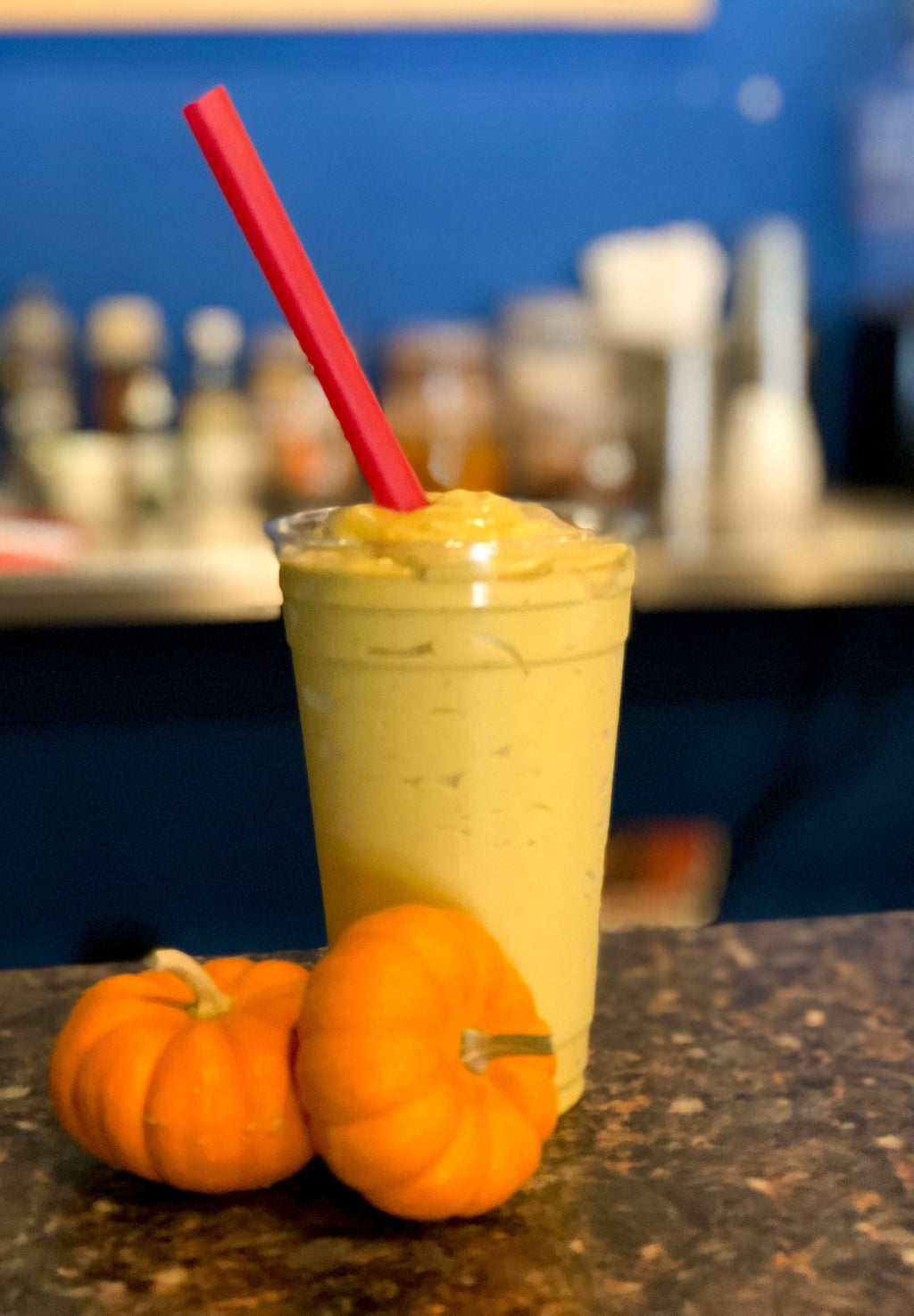 Pumpkin Spice Smoothie (with stevia)