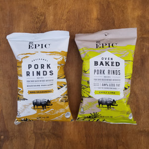 Epic Pork Rinds Chili Lime