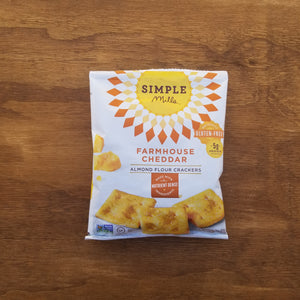 Simple Mills Farmhouse Cheddar Crackers