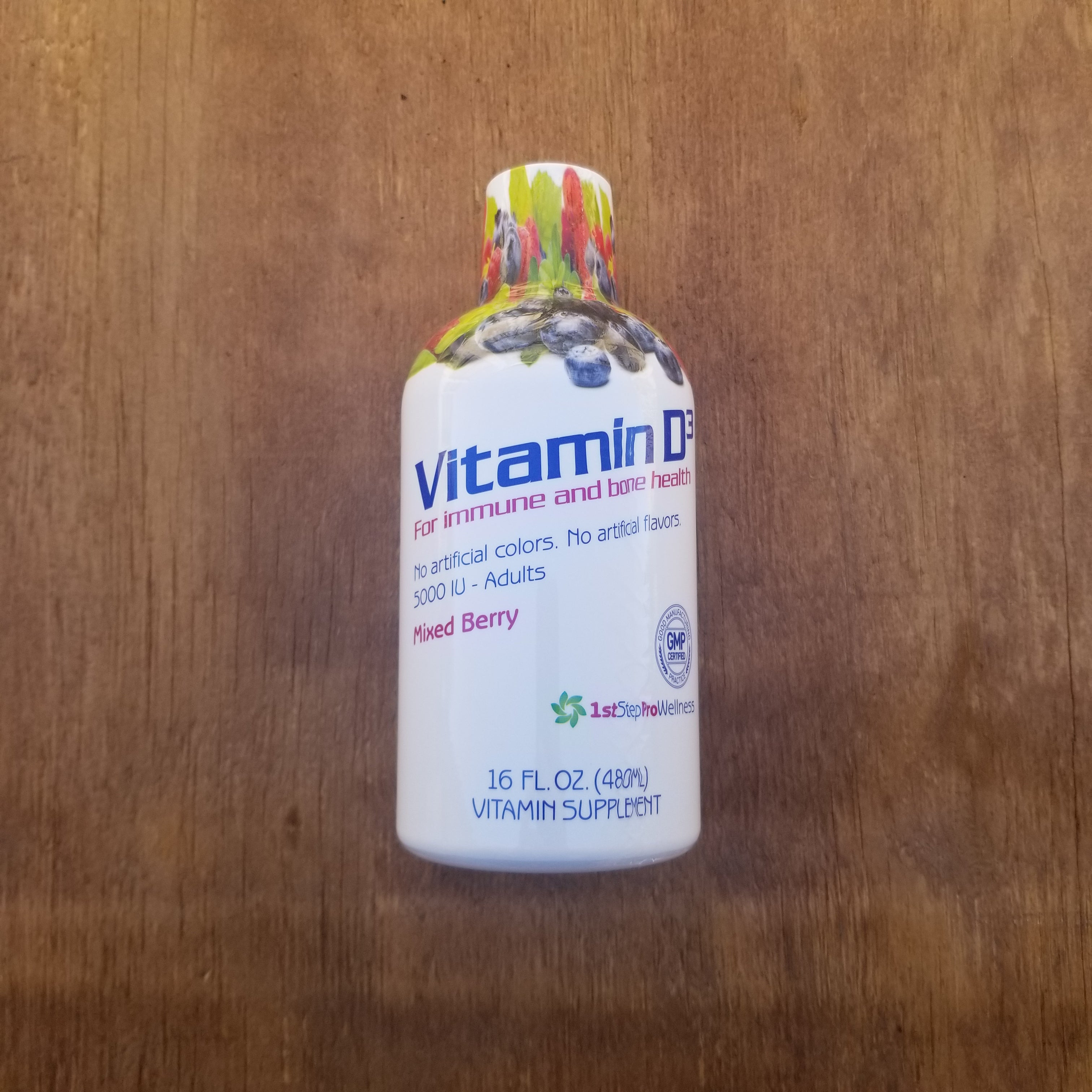 Vitamin D3 Mixed Berry 16 oz.