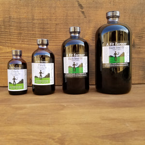 A Fit Farmer Black Seed Oil 8 oz.