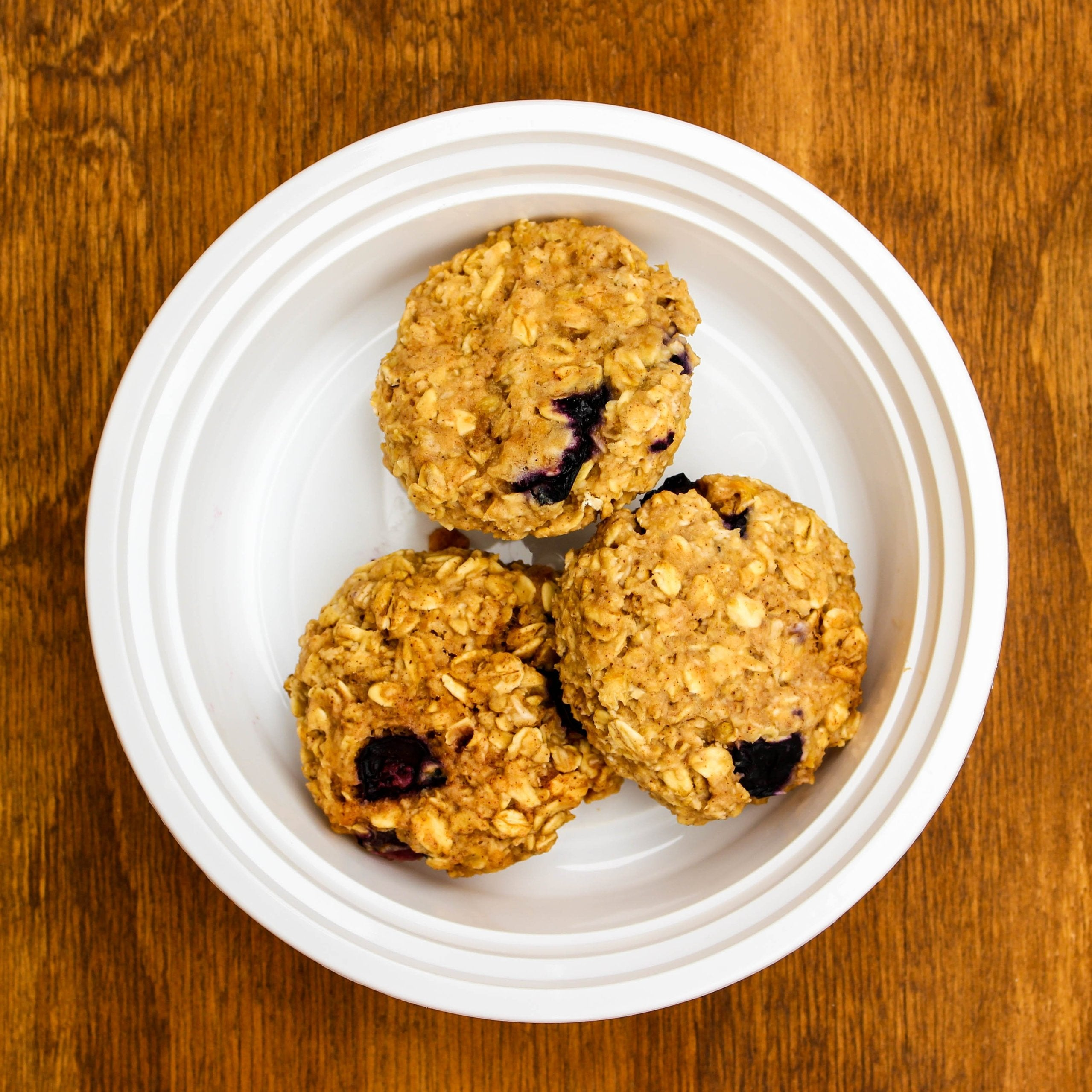 Blueberry Lemon Breakfast Cookies