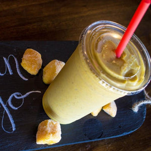 Golden Mango Smoothie (with Stevia)
