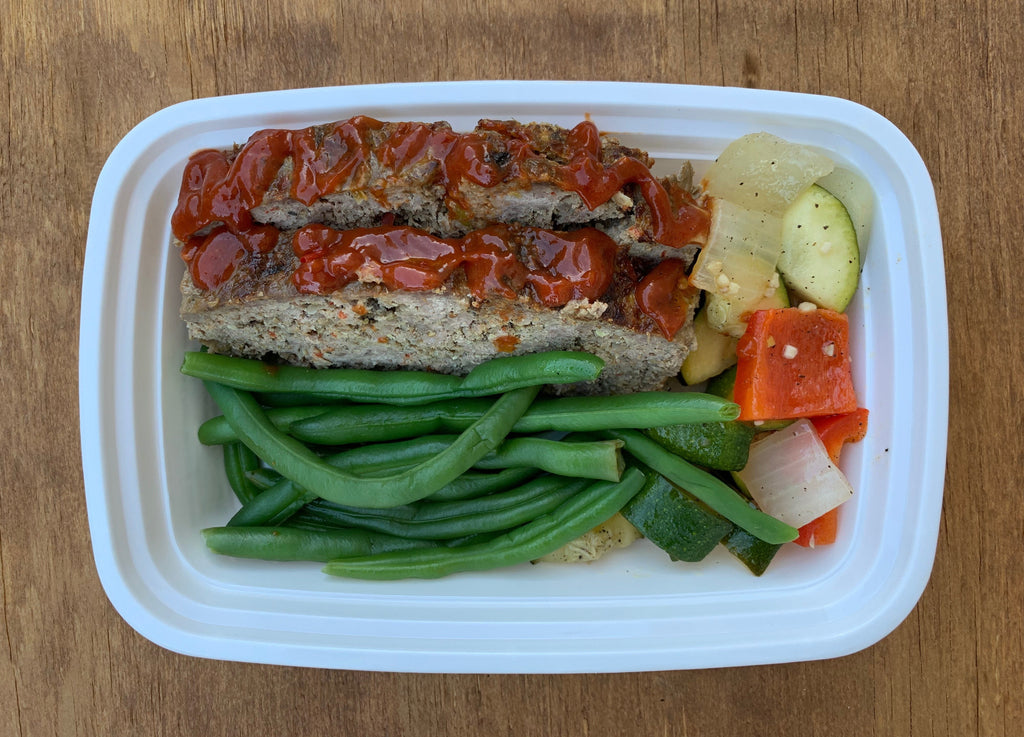 Grass-fed Beef Meatloaf (w/Chipotle Lime Sauce)
