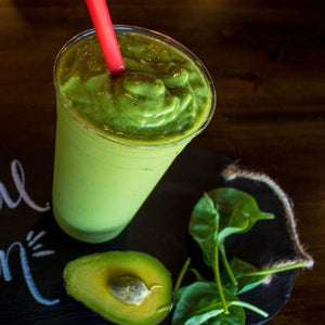Tropical Green Smoothie (with Stevia)