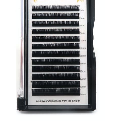 VIP Eyelashes - Faux Mink Lash Extension 12 Lines 0.07mm D Curl - beautygiantusa.com