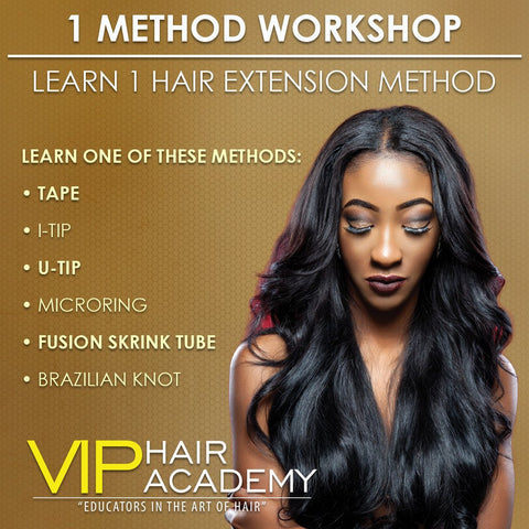 Learn a Hair Extension Method Workshop - beautygiantusa.com