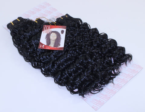 "Beverly Hills Collection Beach Curl 4 Pieces  (14"", 14"", 16"", 18"") - beautygiantusa.com"
