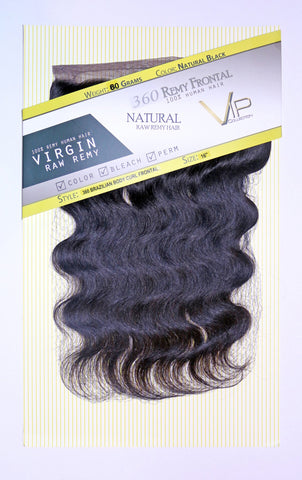 360 Lace Brazilian Body Curl Frontals/Closure - beautygiantusa.com