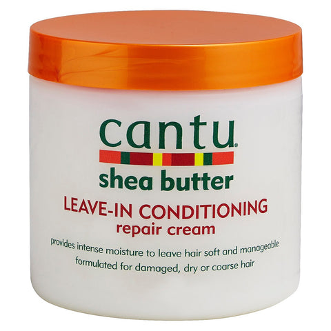 Cantu Leave in Conditioning Repair Cream 16 oz - beautygiantusa.com