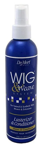 Demert Wig & Weave Dry Shampoo, Oil Free Shine,Lusterizer and Conditioner - beautygiantusa.com