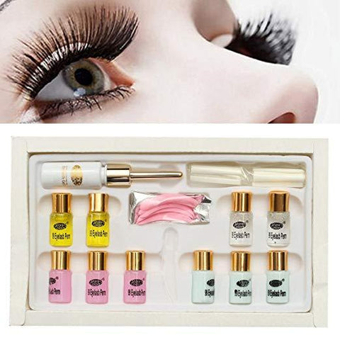Eyelash Lash Eyelashes Wave Curling Perming Curler Rod Glue Perm Kit Sets - beautygiantusa.com