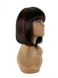 "Unique's 100% Human Hair Full Wig / Style ""A8"" - beautygiantusa.com"