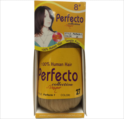 "Unique's Perfecto 1 Bump Hair 8""  / 100% Human Hair - beautygiantusa.com"
